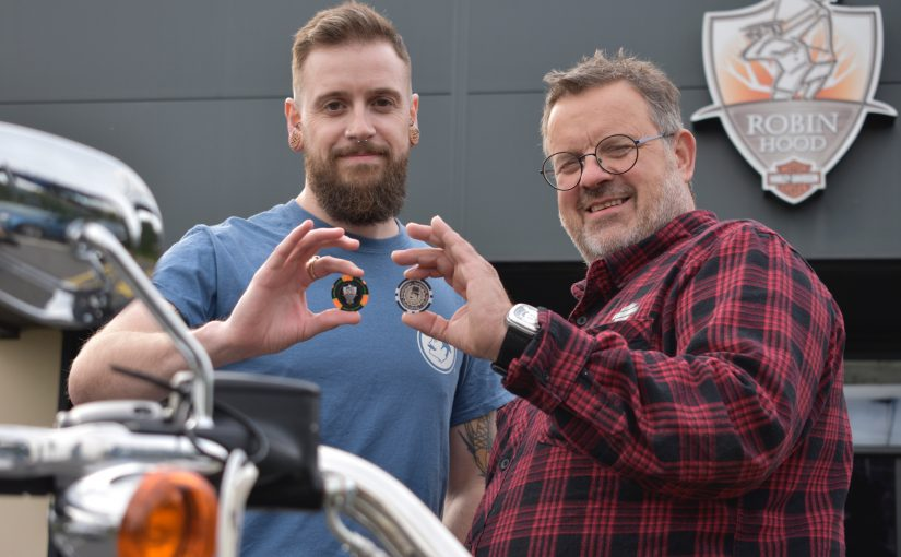 Barber cuts a deal with Harley Davidson in Nottingham