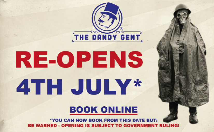COVID 19 UPDATE: Dandy Shops plan for 4th July Re-opening!